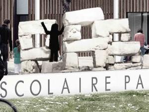 07 06  2017 / concours gagné // 1% artistique groupe scolaire pablo Neruda à Poitiers /// «Las piedras del cielo»