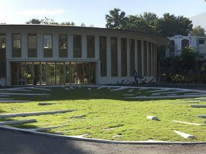 Etoile de terre / Sculpture-paysage // Port-au-Prince, Haïti /// 2018
